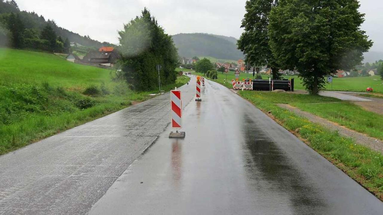Die Fahrbahn der L102 zwischen Seelbach und Wittelbach ist saniert.  | Foto: Gemeinde Seelbach