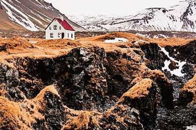 Ein Buch über die uralte Magma-Blase Island