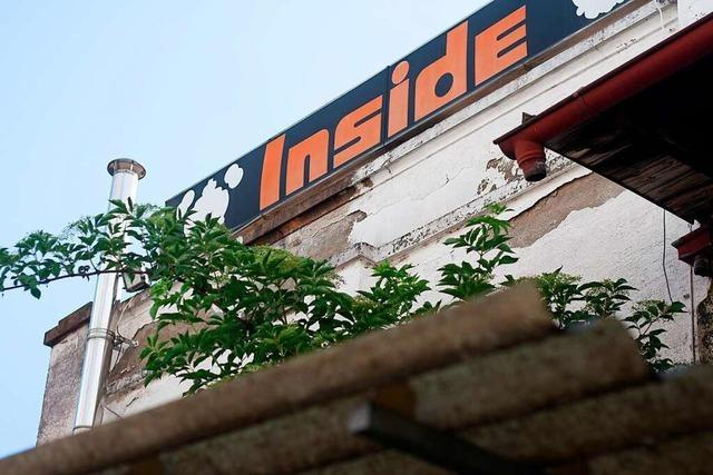 Ende eines Kultkellers: Das Emmendinger Inside steht vor dem Abriss