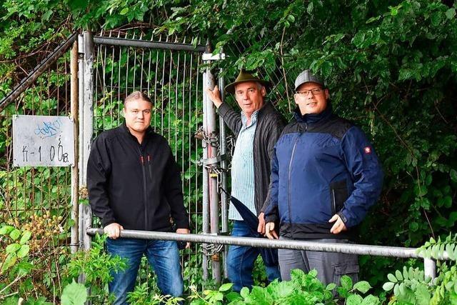 Die Fischer wollen den Rheinuferweg in Grenzach-Wyhlen zurück