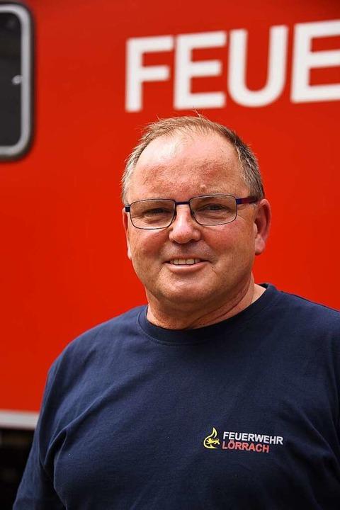 34 Jahre im Feuerwehrdienst: Hans-Friedrich Uebelin  | Foto: Robert Bergmann