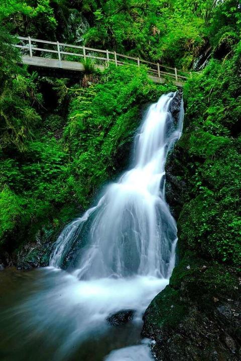 Berauschend: Wasserfall in der Lotenbachklamm  | Foto: Philippe Thines