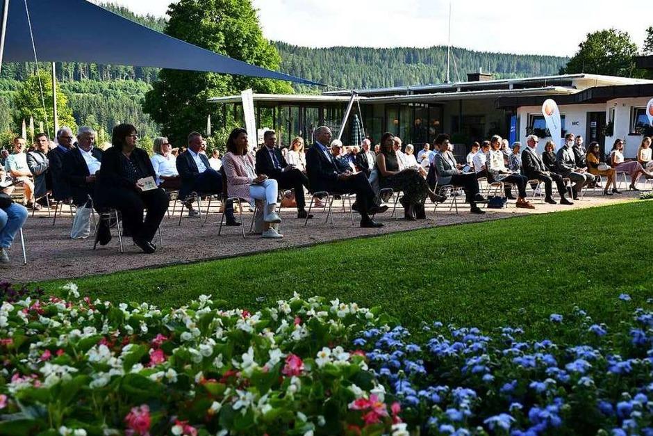 Festakt im Kurgarten Titisee (Foto: Tanja Bury)