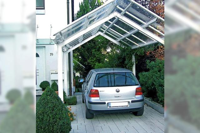 Parkraum wird zu Stauraum