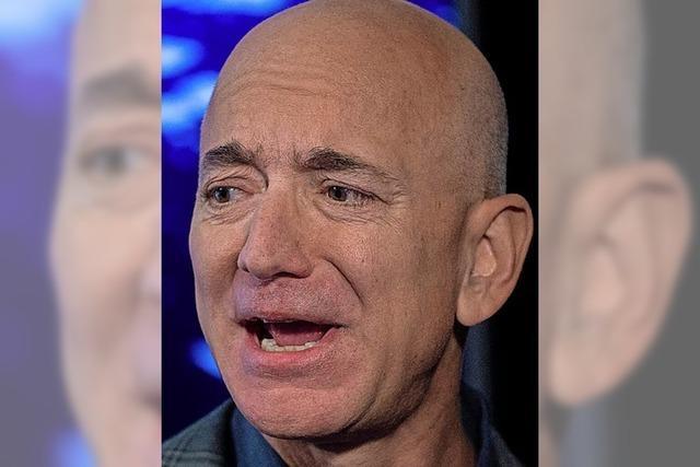 Bezos gibt das Zepter ab
