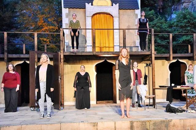 Wie Gretchens Auftritt in Faust zum Spiegelbild für Schauspieler wird