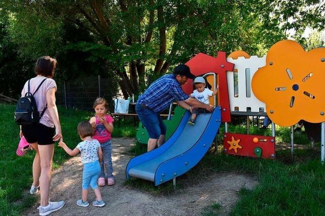 Das Spielhaus Nollingen hat auf dem Spielplatz neue Angebote parat