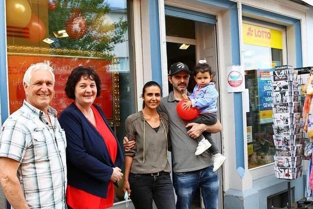 Die Toto-Lotto-Filiale in Lörrach-Brombach hat neue Inhaber