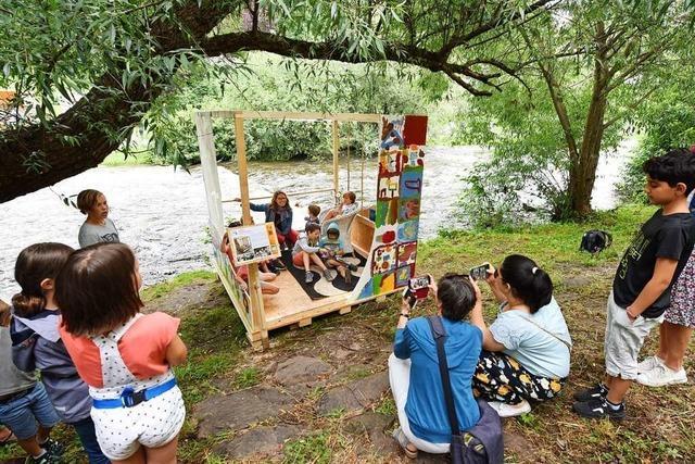 Eine Ausstellung in Freiburg wagt den Blick in die Zukunft des Dreisamufers