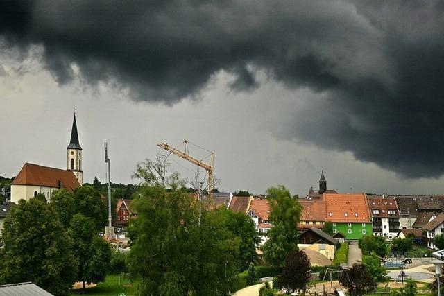 Temperatursprünge und Regen satt im Juni