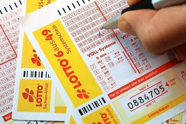 Lottospieler aus Weil am Rhein gewinnt 100.000 Euro