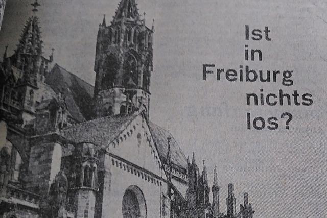 Immerhin für die Tour de France war Freiburg 1971 attraktiv genug