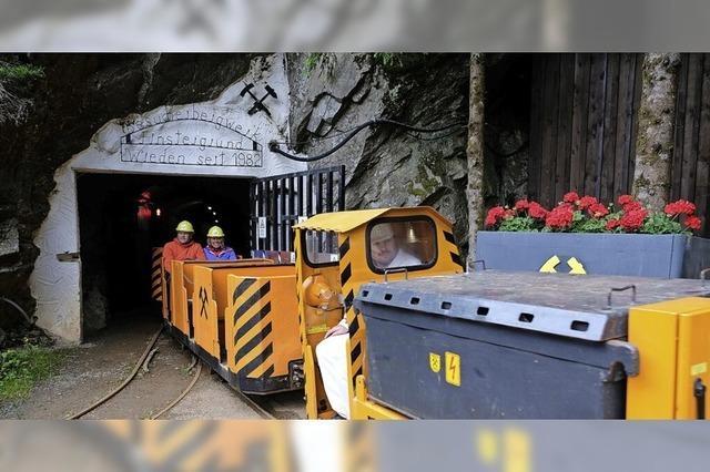 Führungen im Bergwerk Finstergrund in Wieden