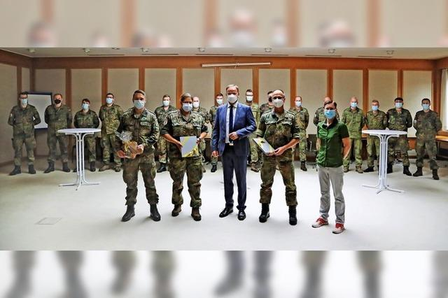 Landrat dankt der Bundeswehr