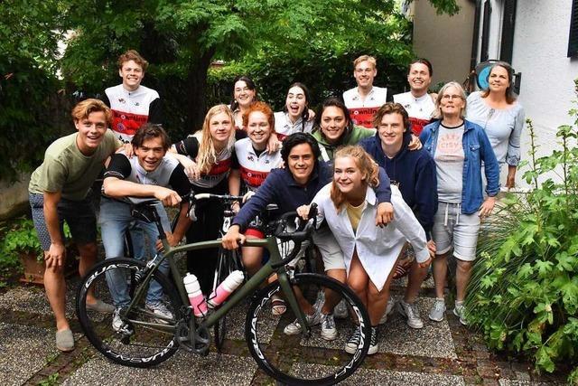Studenten radeln für die Forschung 2700 Kilometer