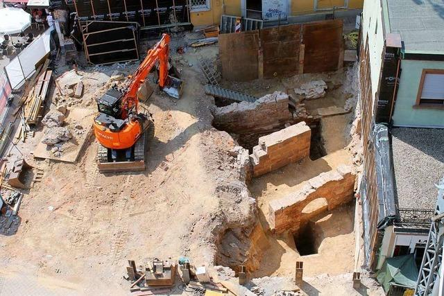 Barocke Offenburger Festungsreste kommen an die Stadtmauer
