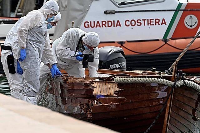 Verdächtiger stellt sich nach Bootsunfall den Behörden