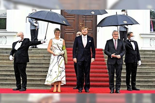 Das niederländische Königspaar in Berlin