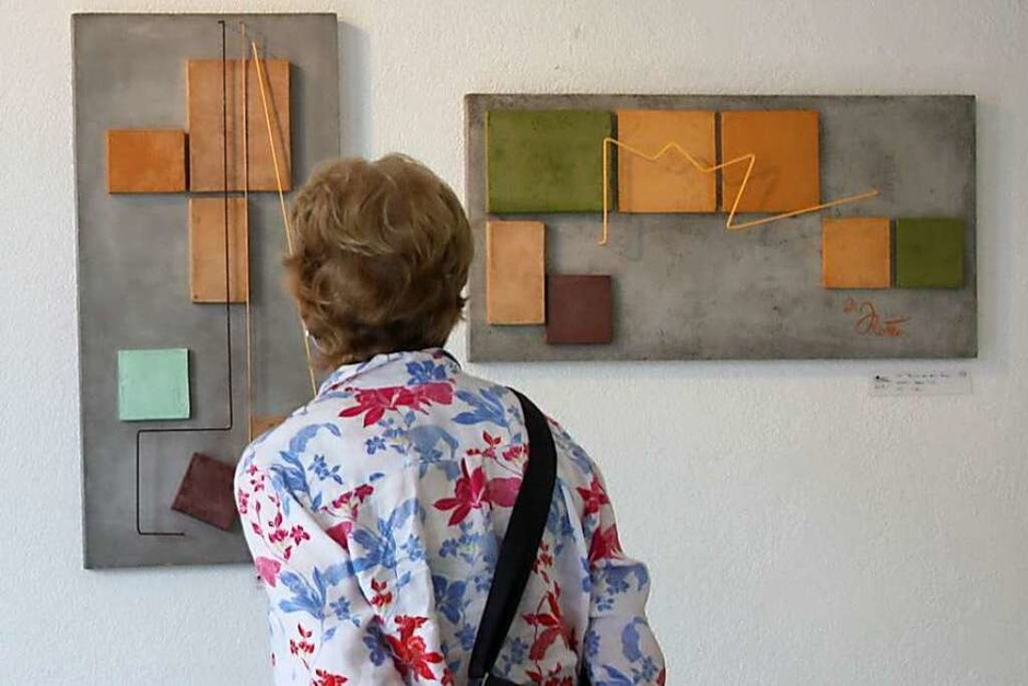 Bilder aus Beton von Dieter Rottler (Foto: Christiane Franz)