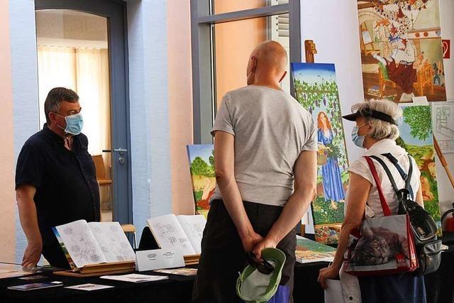 Riegels Kunstschaffende zeigten sich gemeinsam der Öffentlichkeit