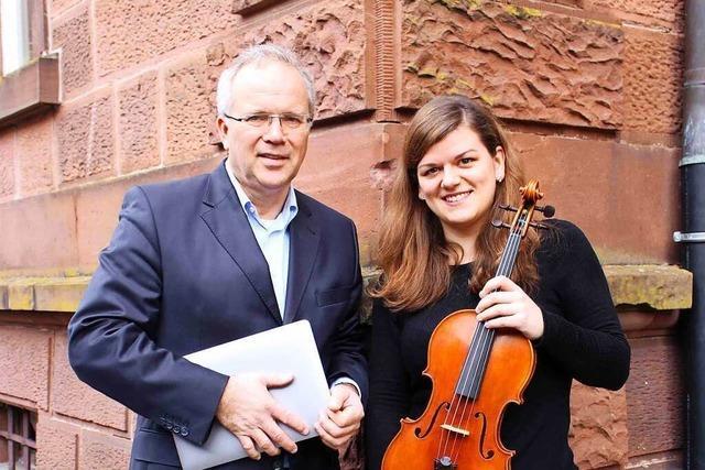 Sarina Zickgraf initiiert eine Konzertreihe für Kammermusik