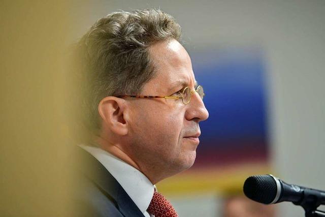 Südthüringer CDU verteidigt Hans-Georg Maaßen