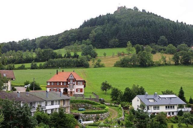 Anschluss an die Kanalisation rund um den Schlossberg Geroldseck