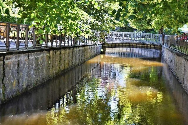 Schopfheim gilt als das Klein-Venedig des Wiesentals