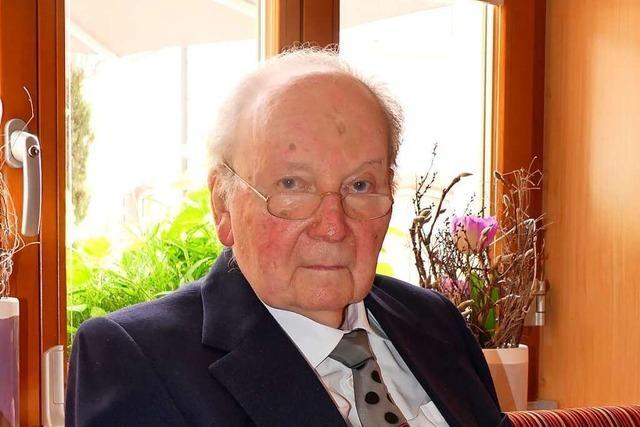 Elzach trauert um seinen Ehrenbürger Josef Weber