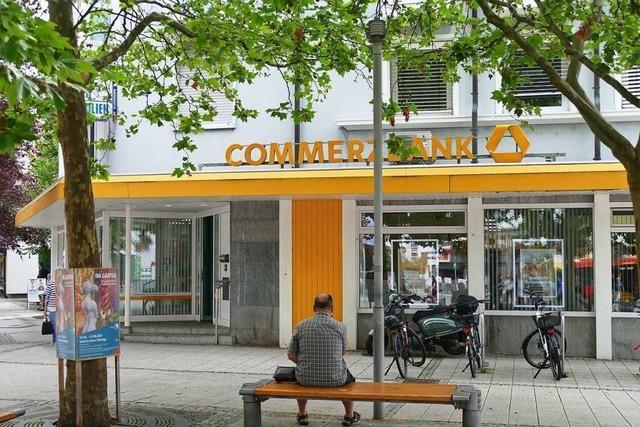Die Commerzbank schließt in Rheinfelden ihre Filiale