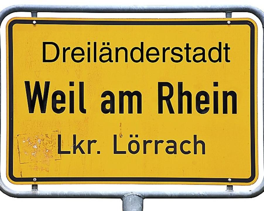 """Passt zu Weil am Rhein """"Dreiländerstadt"""" oder besser etwas anderes?    Foto: Hannes Lauber"""