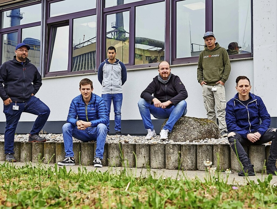 <BZ-FotoAnlauf>Evonik: </BZ-FotoAnlauf...ils mit sehr gutem Ergebnis bestanden.  | Foto: Schwammkrug