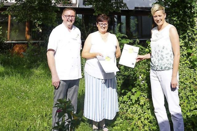 Hotel Suggenbad erhält Urkunde zum vierten Mal