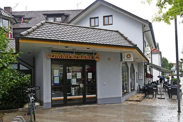 Commerzbank schließt in Bad Krozingen