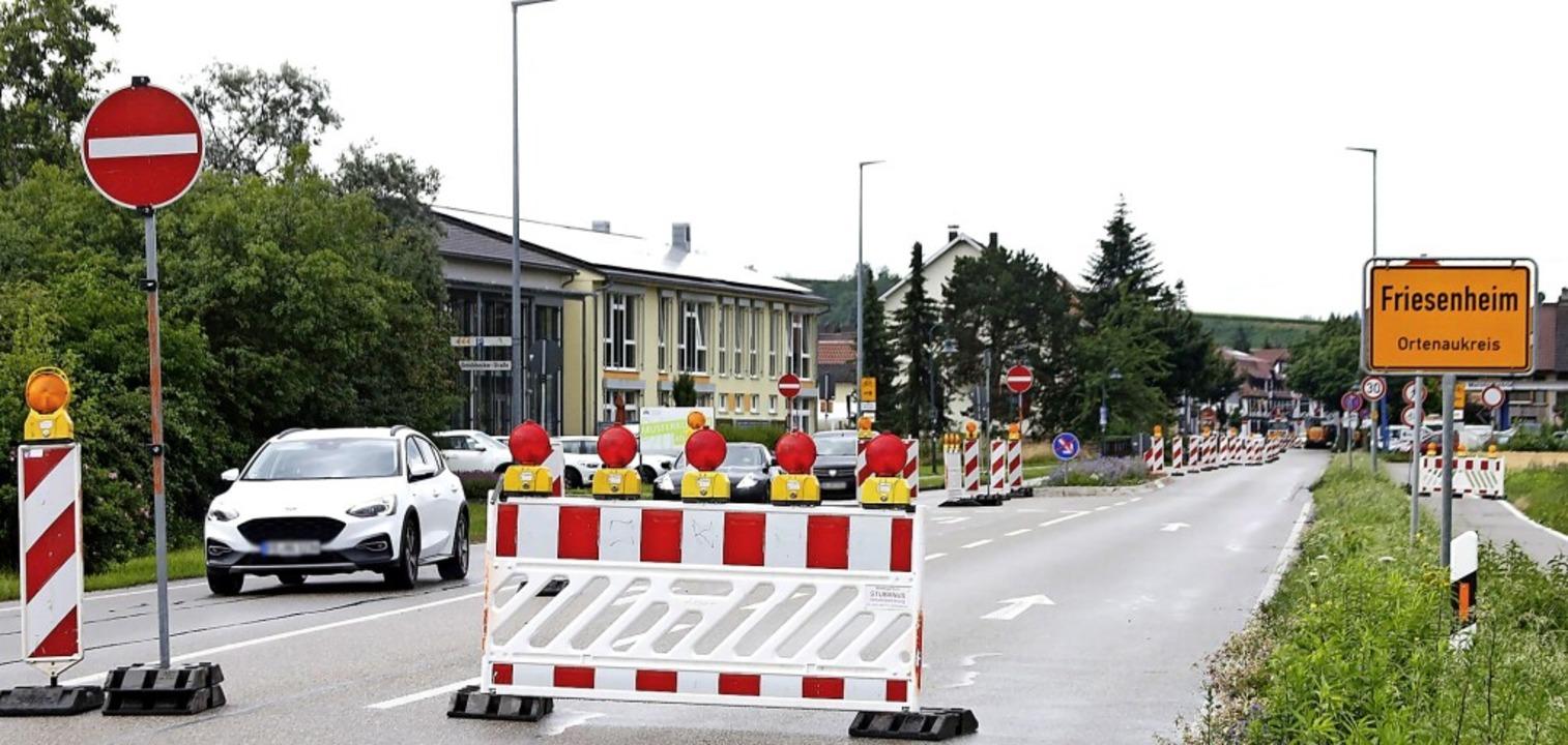 Wer von Offenburg nach Lahr will, wird...auf eine Umleitungsstrecke geschickt.   | Foto: Heidi Fößel