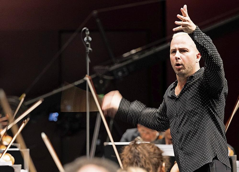 Dirigent Yannick Nézet-Séguin in Baden-Baden    Foto: andrea kremper
