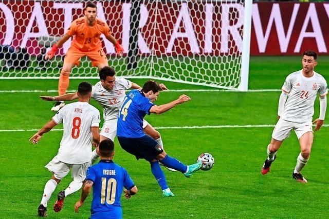 Italien steht nach 5:3-Sieg gegen Spanien im Finale
