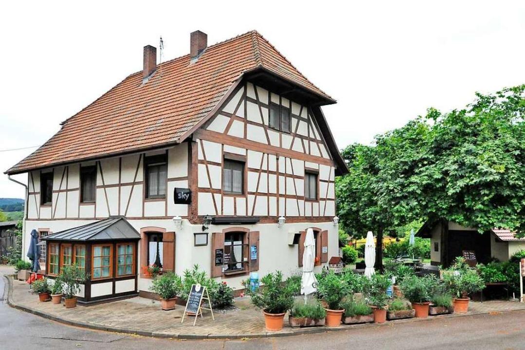 Seit 1928 haben die Trenkles den Hof, ...lie Sonntag erworben hatte, gepachtet.  | Foto: Markus Zimmermann