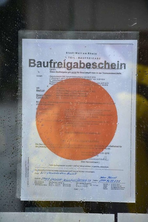Bei Bauherren begehrt: roter Punkt    Foto: Hannes Lauber