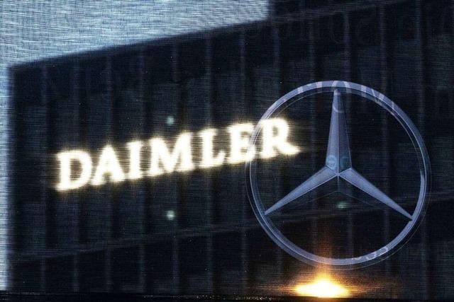 Verbraucherschützer verklagen im Diesel-Skandal nun auch Daimler