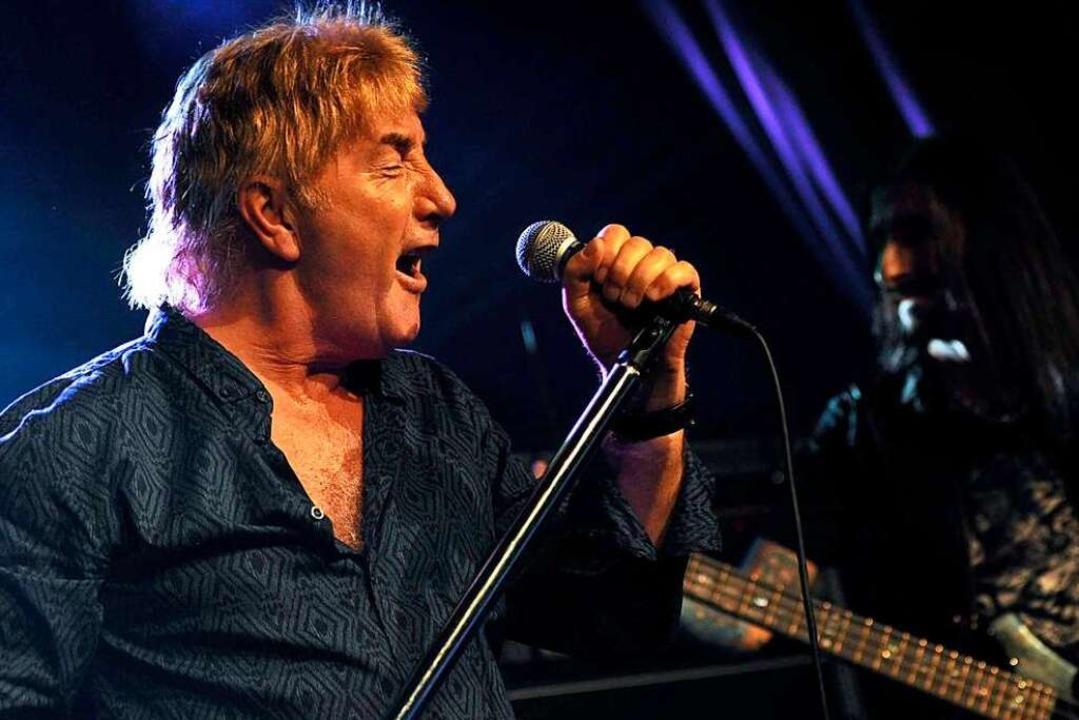 Früher bei den Les Humphries Singers, ...r bei einem Auftritt 2013 in Mannheim.    Foto: imago stock&people