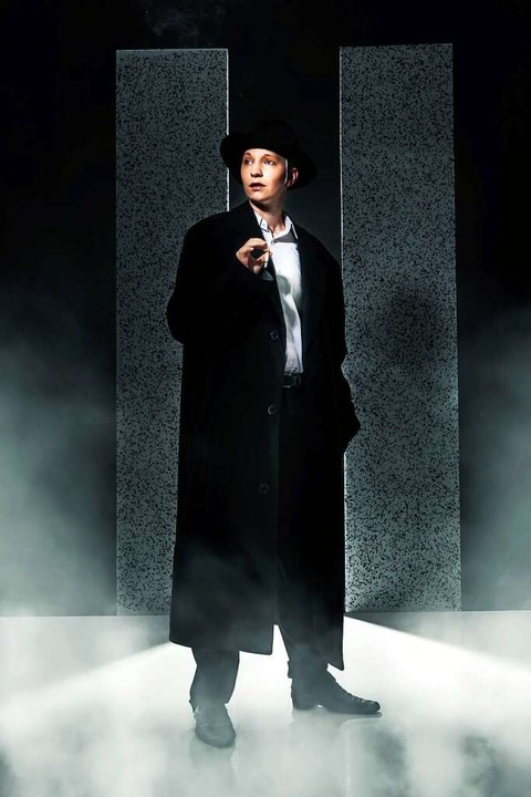 Chris Meiser als Kaspar Hauser  | Foto: Andreas Lörscher