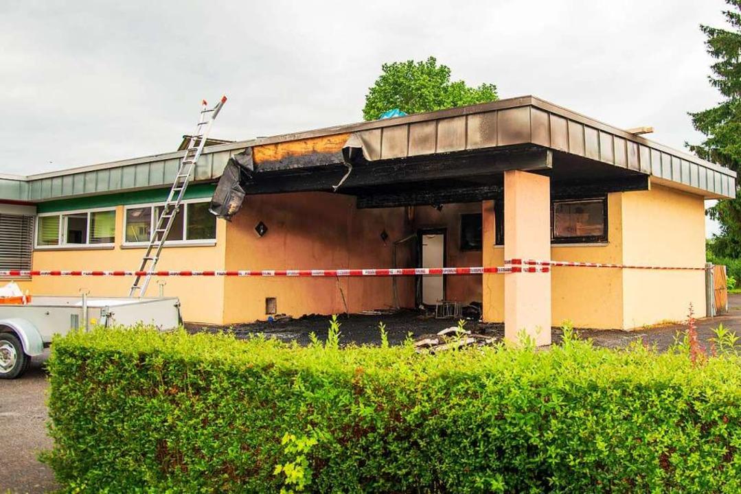 Im katholischen Kindergarten in Kappel hat es am Donnerstag gebrannt.  | Foto: Olaf Michel