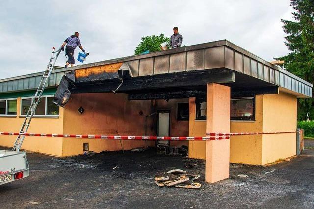 Polizei geht bei Kita-Feuer in Kappel-Grafenhausen von Brandstiftung aus