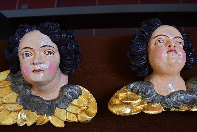 Eisenbacher Pfarrgemeinde lässt vergessene Engelfiguren restaurieren