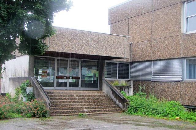 Wasserschäden an der Hellbergschule in Brombach sind teilweise behoben