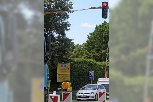 Klage über mehr Verkehr wegen Ampel
