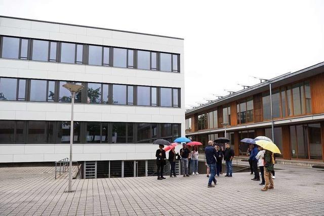 Die Emil-Dörle-Schule ist jetzt zu 60 Prozent saniert