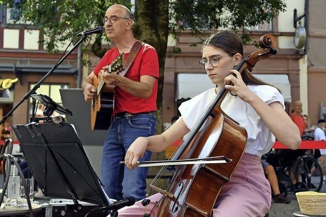 Musik am Rosenbrunnen