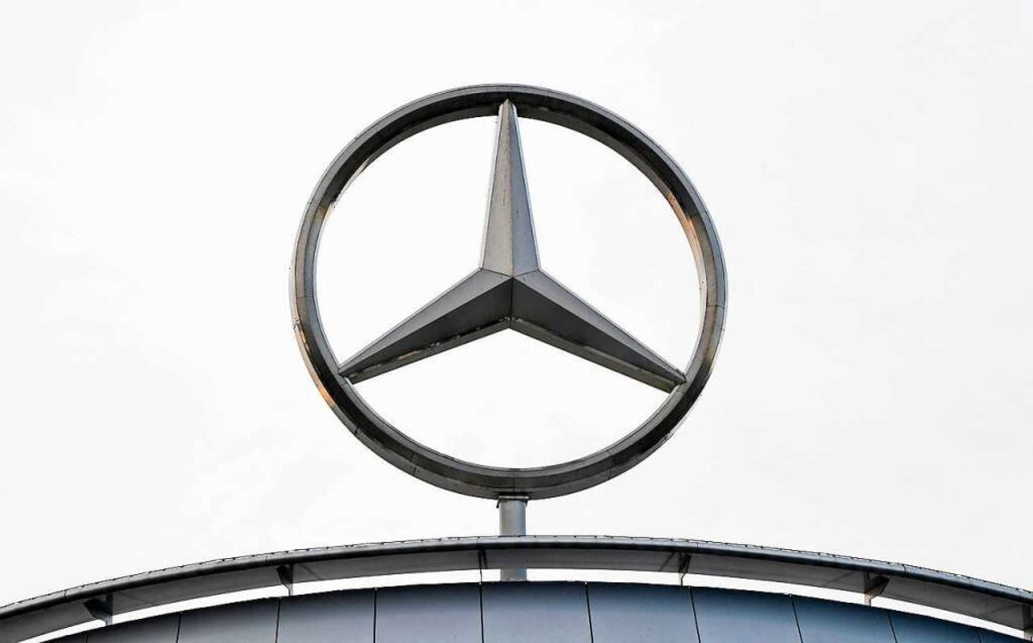 Daimler ist eine deutsche Industrieikone.    Foto: THOMAS KIENZLE (AFP)